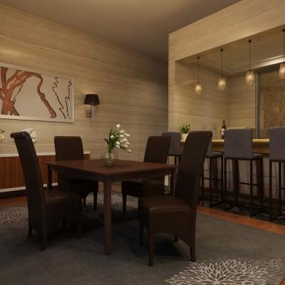 Conjunto de Mesa e 4 Cadeiras Polipele - 3 cores disponíveis