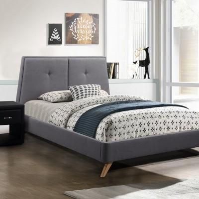 Cama de casal Flow com Estrado e Cabeceira de cama incluídos - Disponível em 2 cores e 2 medidas