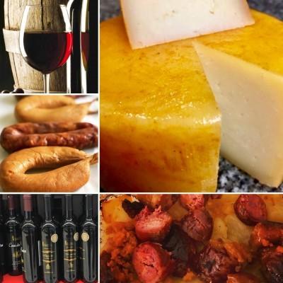 Super Pack: Queijo, Vinho e Enchidos : 1+6+12