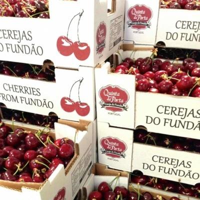 Caixa de Cerejas (2 Kg)