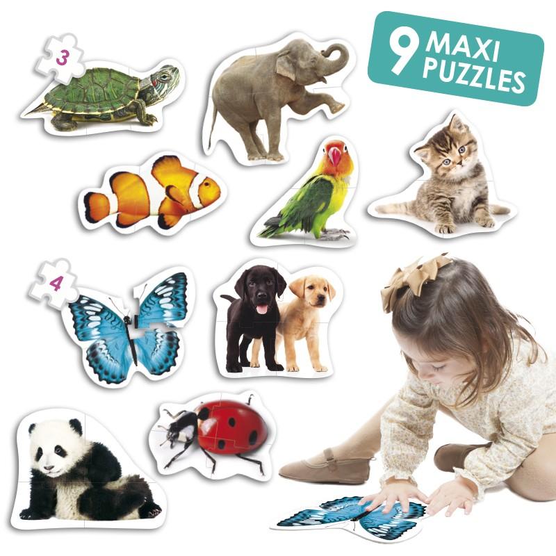 Maxi-Puzzle: Animais