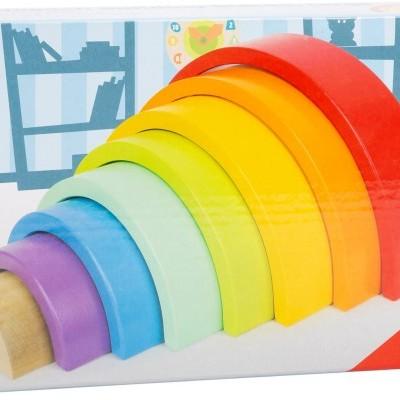Arco-íris de madeira [26 cm]