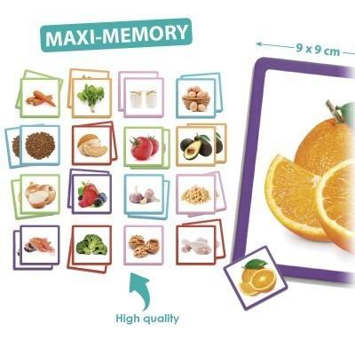 Jogo da memória maxi: Alimentos Saudáveis