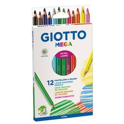 Lápis de cor Giotto Mega [12 cores]