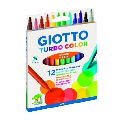 Marcador Giotto turbo color [12 cores]