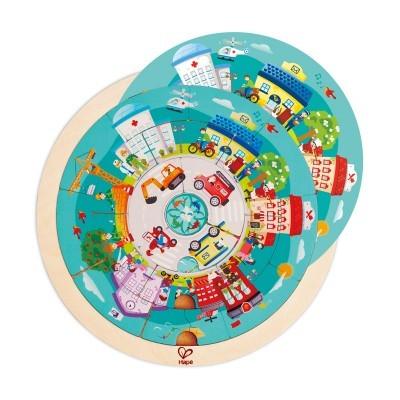 Puzzle Rotunda das Profissões