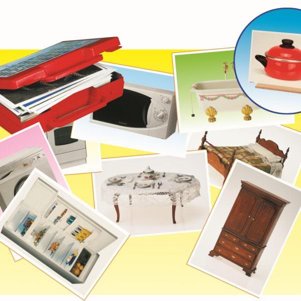 50 fotografias de objetos da casa