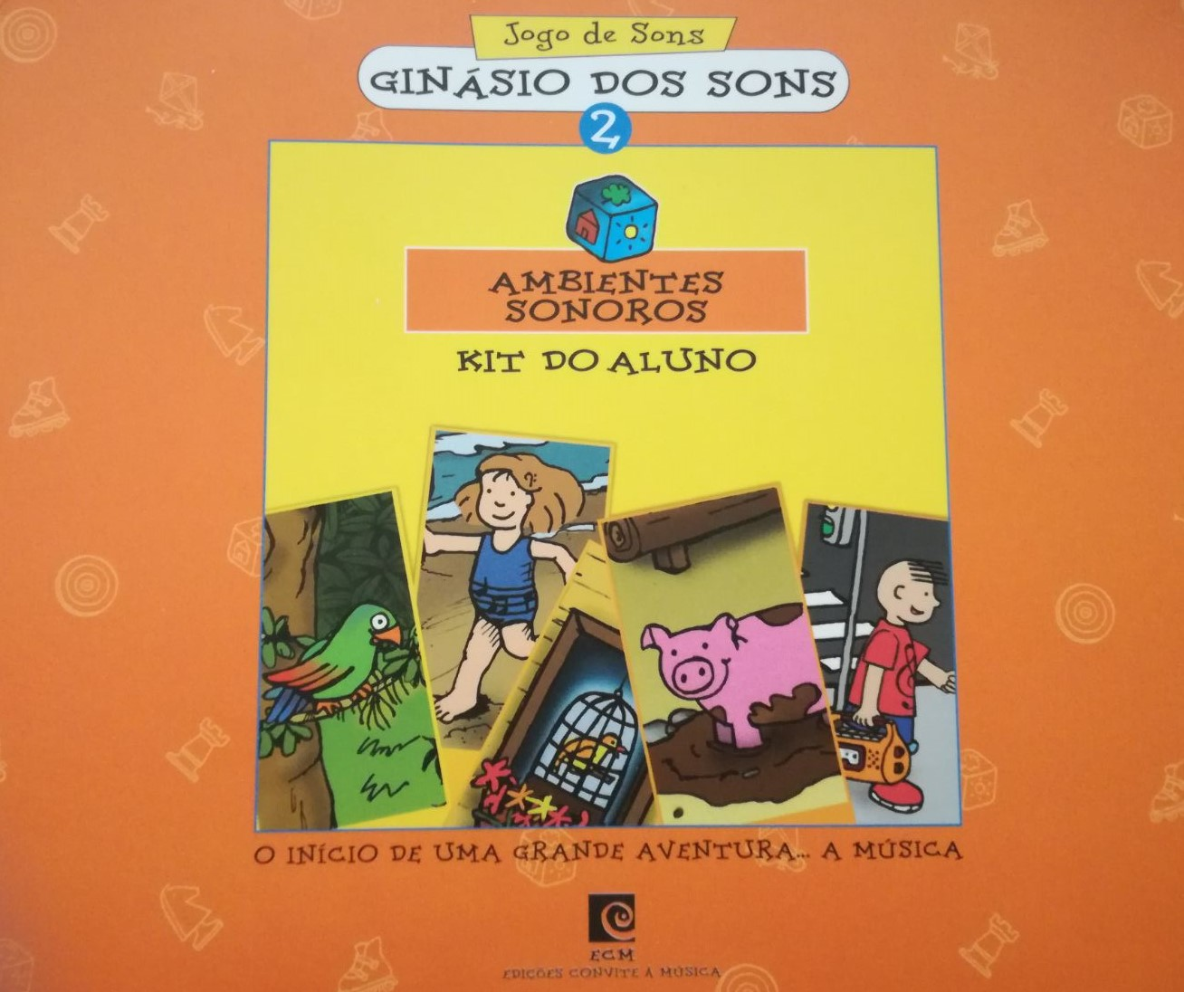 Ginásio dos Sons 2 - Ambientes sonoros (Livro+CD-Rom)