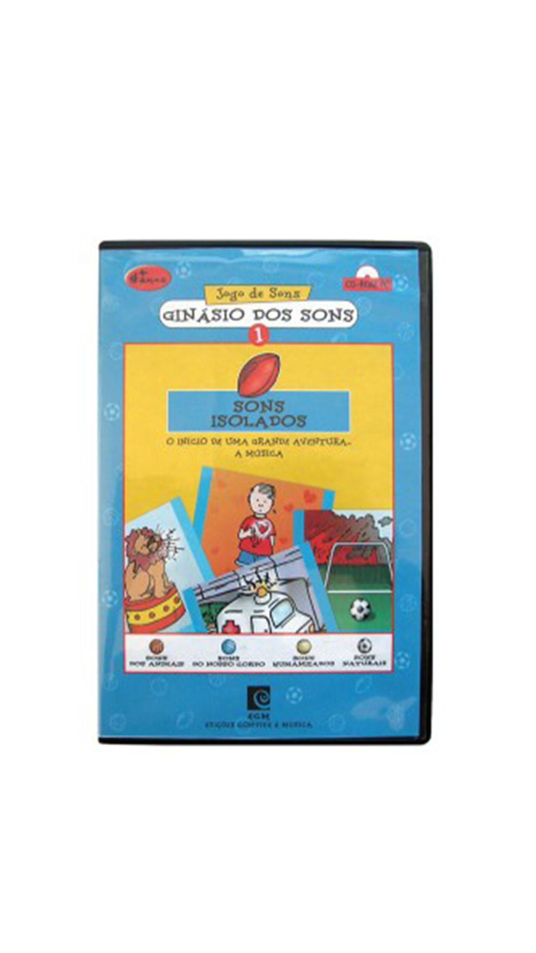 Ginásio dos Sons 1 - Sons isolados (CD-Rom)