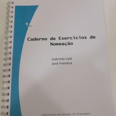 Cadernos de Exercícios de Nomeação