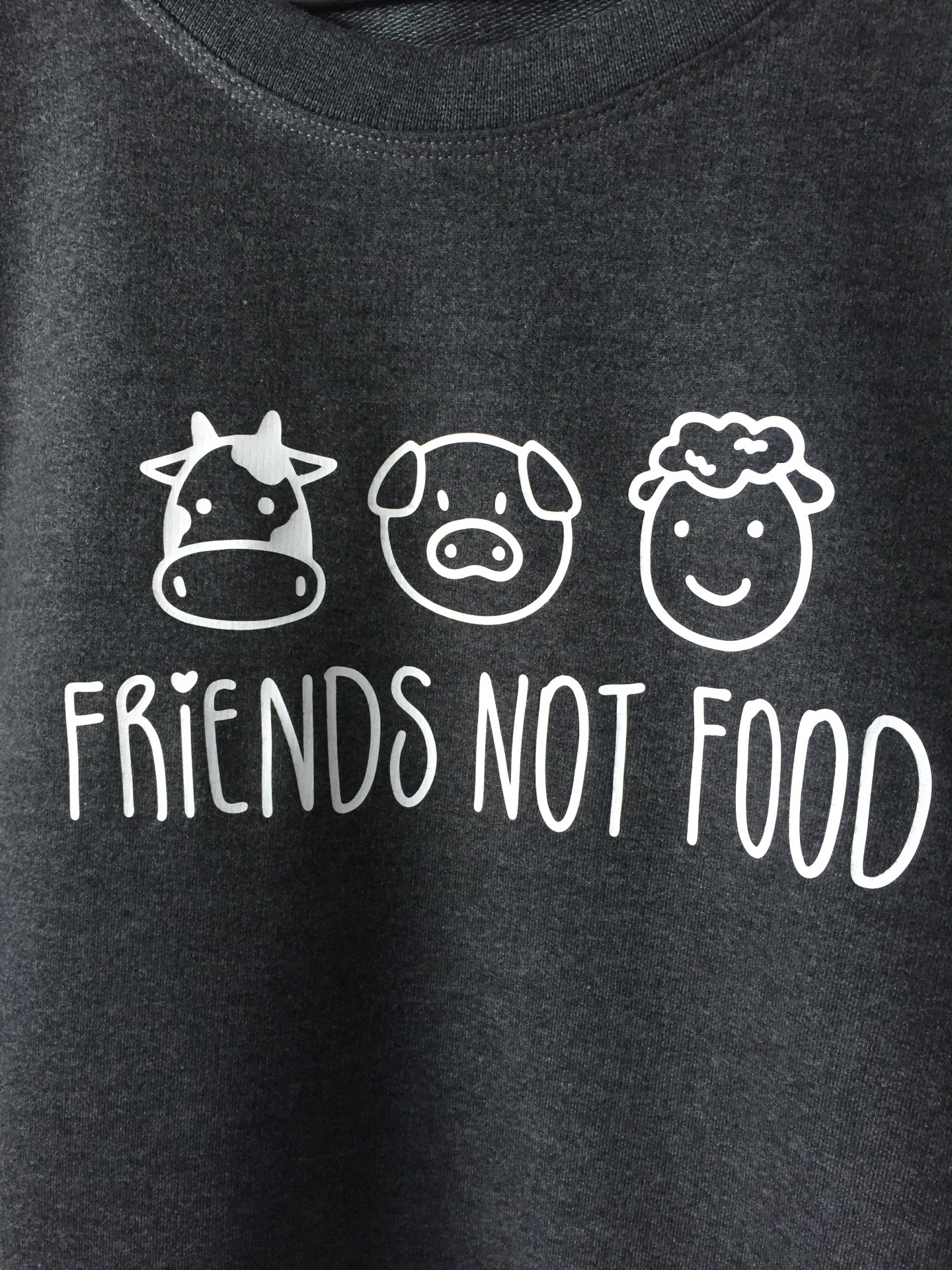 Sweat Sem Carda Friends Not Food