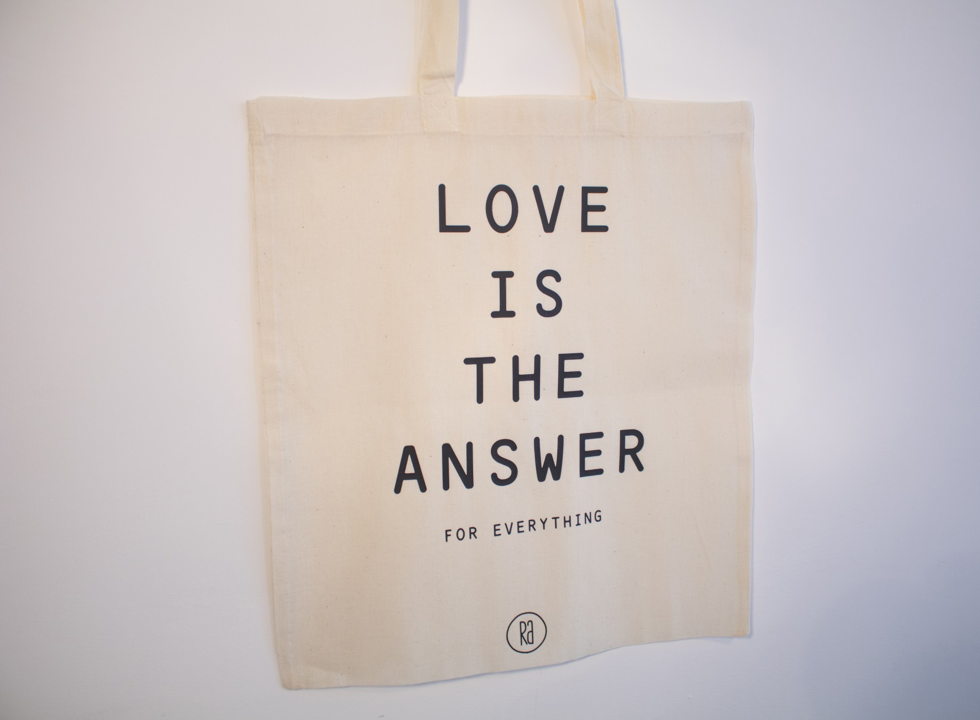 Tote Bag Bege | Love Is The Answer