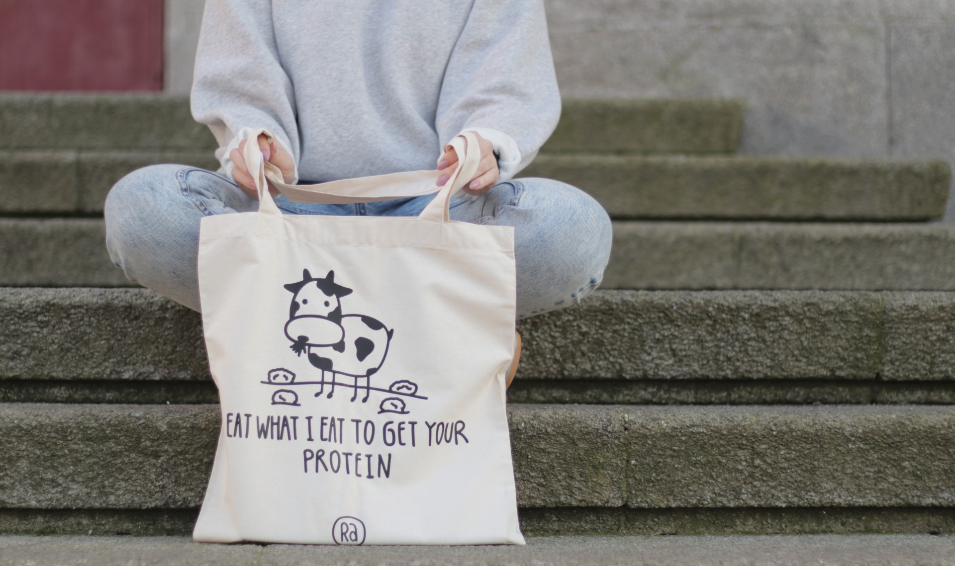 Tote Bag Bege | Eat What I Eat