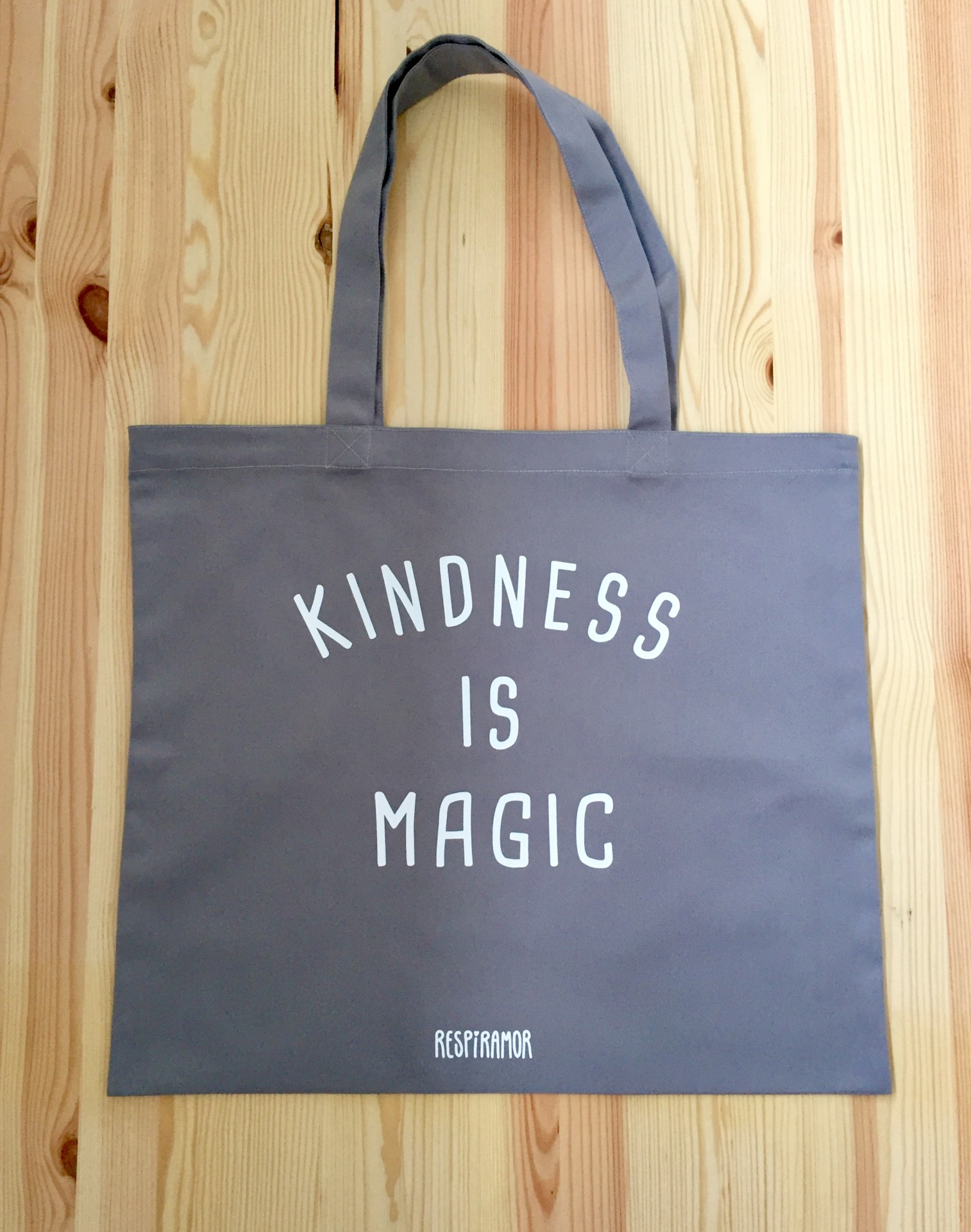 Maxi Tote Bag Cinzento | Kindness