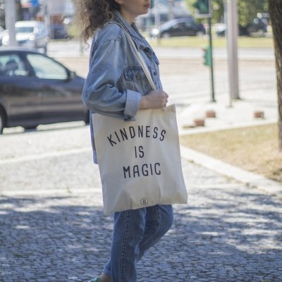 Tote Bag Kindness Is Magic