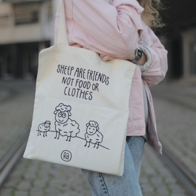 Tote Bag Sheep Are Friends