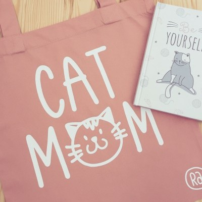 Tote Bag Rosa | Cat Mom