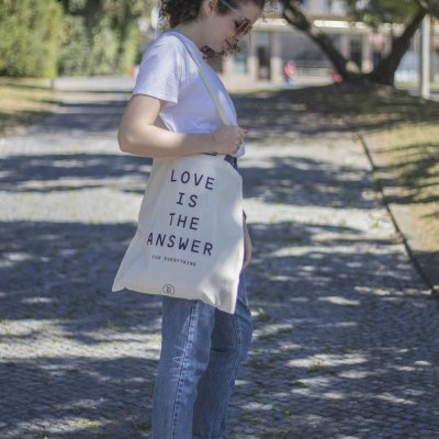 Tote Bag Love Is The Answer
