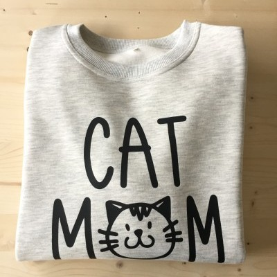 Sweatshirt Cardada Cat Mom