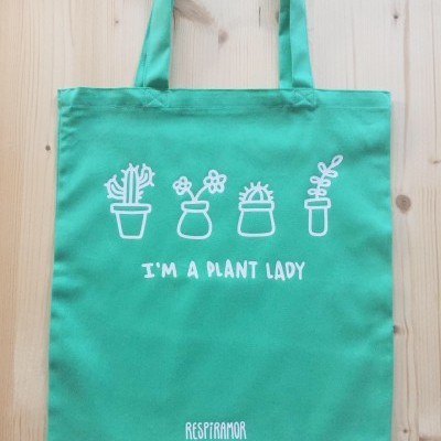 Tote Bag Verde | Plant Lady