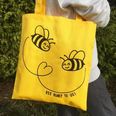 Tote Bag Amarelo | Bee Honey