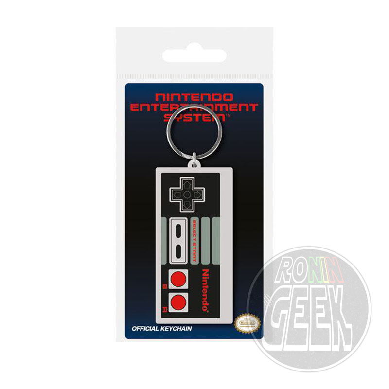 Nintendo Rubber Keychain NES Controller