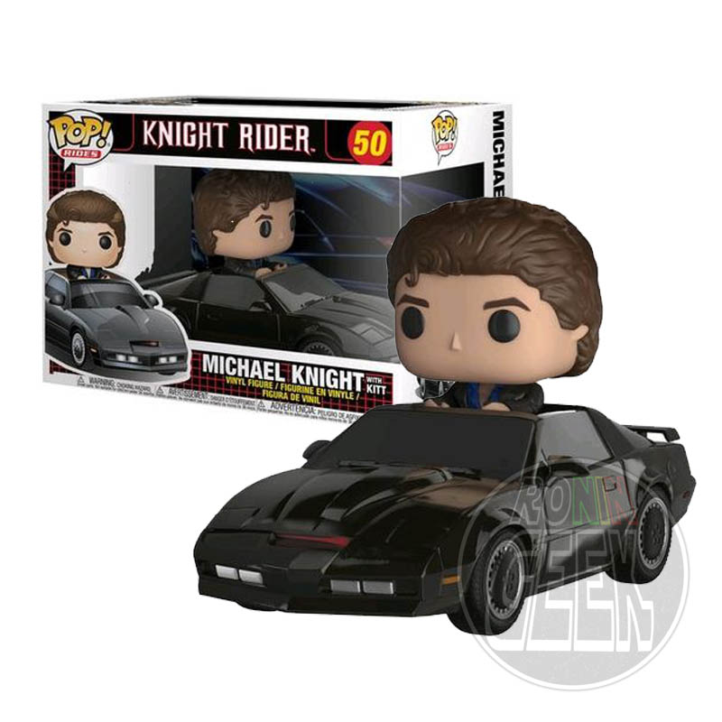 FUNKO POP! Rides Knight Rider - KITT & Michael Knight