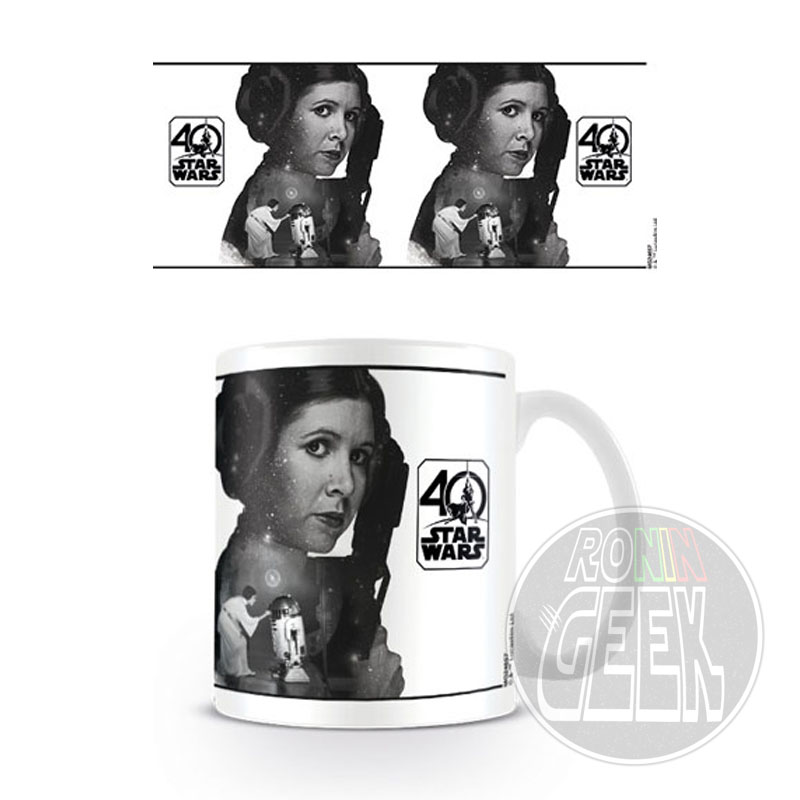 Caneca Star Wars 40th Anniversary (Princess Leia)