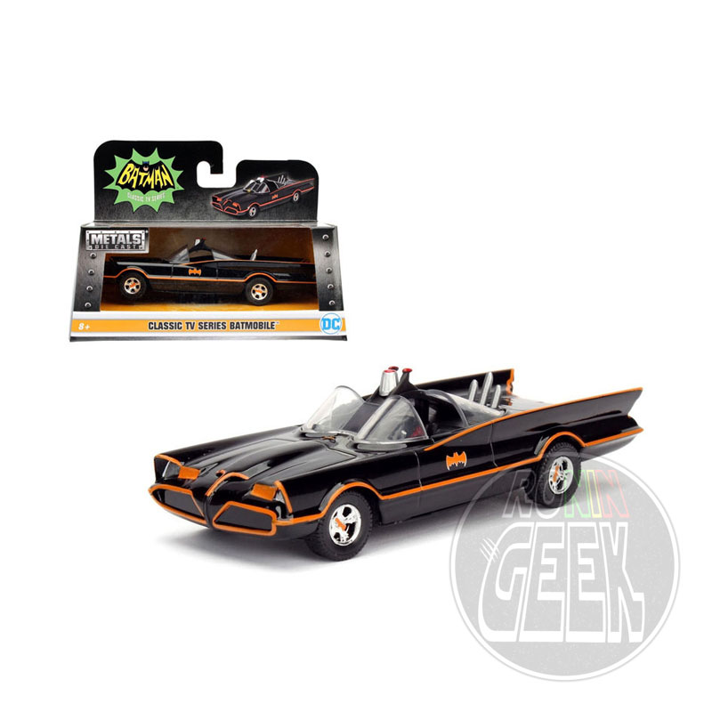 JADA Batman Diecast Model 1/32 1966 Classic TV Series Batmobile