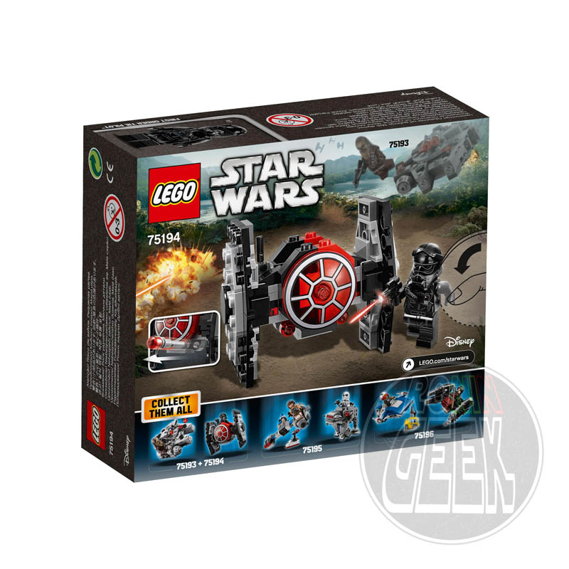 LEGO 75194 - First Order TIE Fighter Microfighter