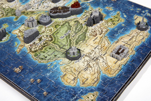 4D CITYSCAPE Game Of Thrones / Mini Westeros 3D Puzzle