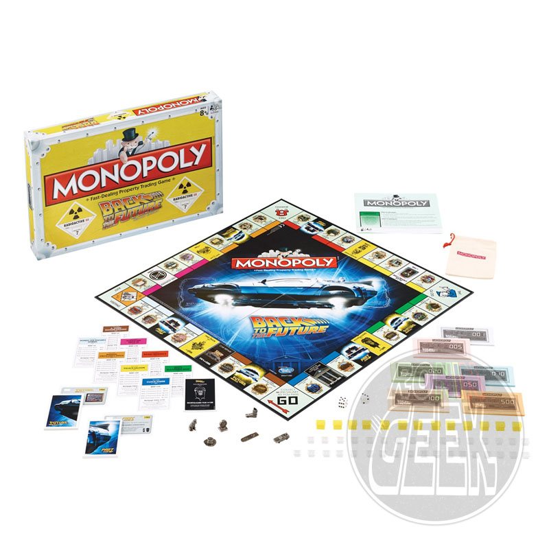 HASBRO Monopoly: Back to the Future Edition