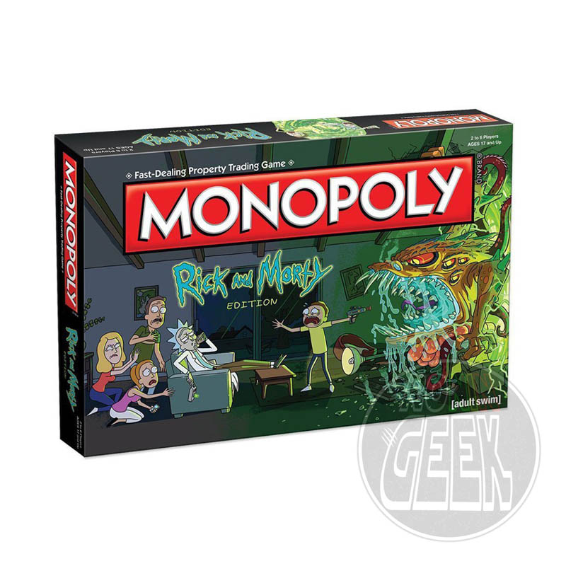 HASBRO Monopoly: Rick and Morty Edition