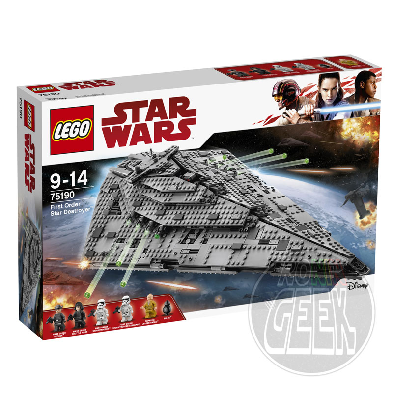 LEGO 75190 - First Order Star Destroyer