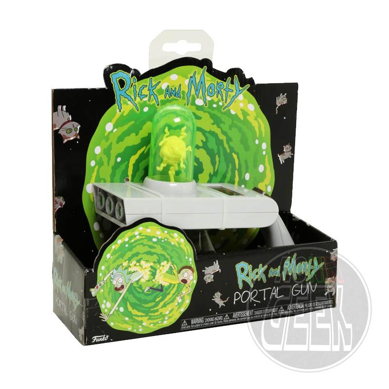 FUNKO Rick & Morty Light and Sound Portal Gun