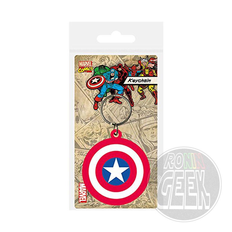 Marvel Comics Rubber Acrylic Captain America Shield