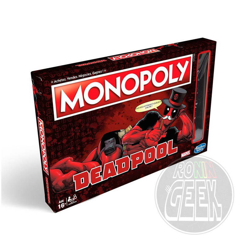 HASBRO Monopoly: Deadpool Edition