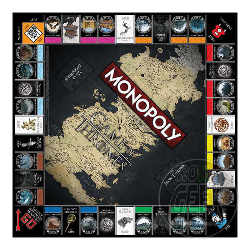 HASBRO Monopoly: Game of Thrones Collectors Edition