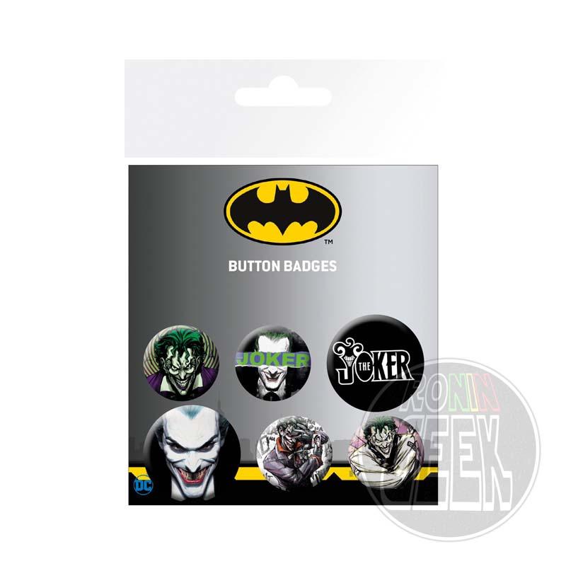 DC Comics Joker badge 6-Pack