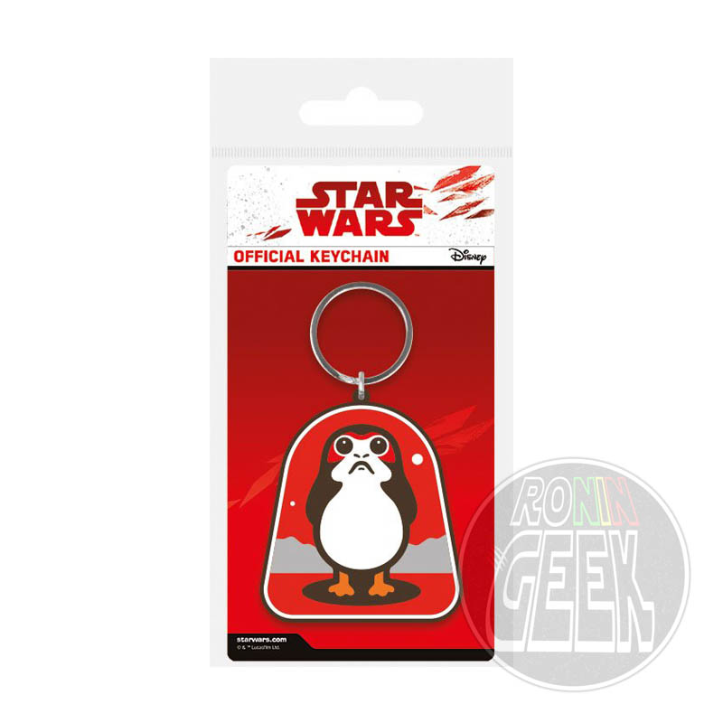 Star Wars Episode VIII Rubber Keychain Porg