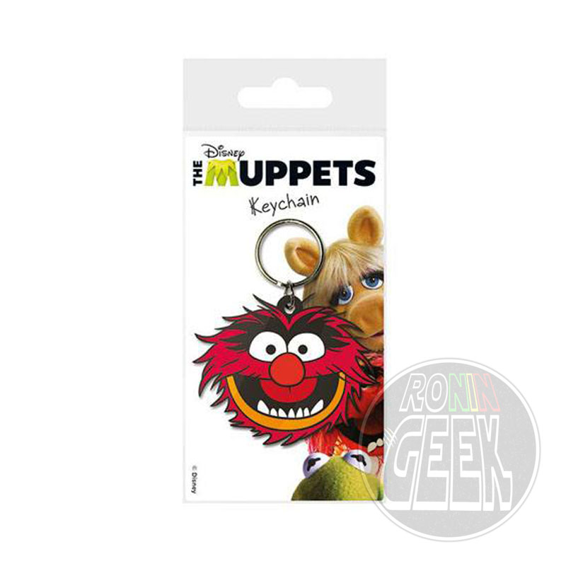 The Muppets Rubber Keychain Animal