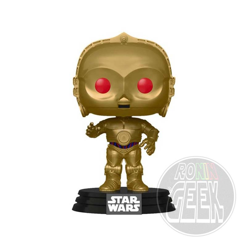 FUNKO POP! Star Wars: The Rise of Skywalker - C-3PO (Red Eyes)