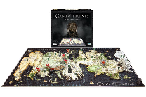 4D CITYSCAPE Game Of Thrones / Westeros 3D Puzzle