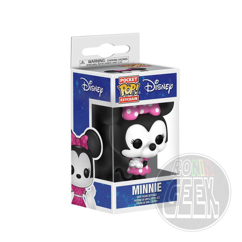 FUNKO POP! Keychain: Disney - Minnie Mouse