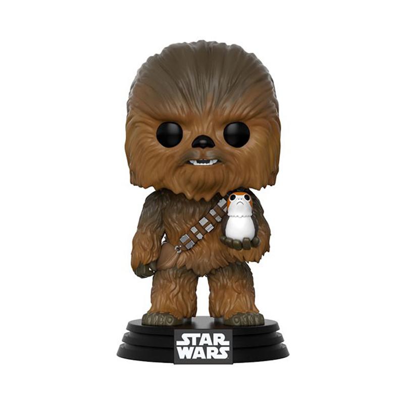 Funko POP! Star Wars Epi. VIII - Chewbacca with Porg