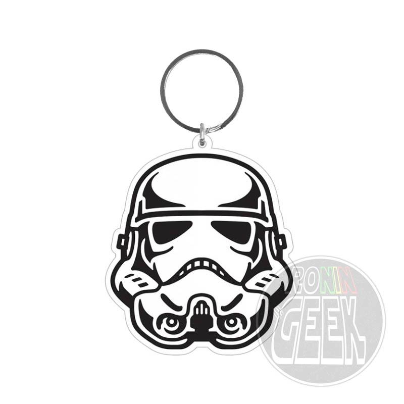 Star Wars Rubber Keychain Stormtrooper