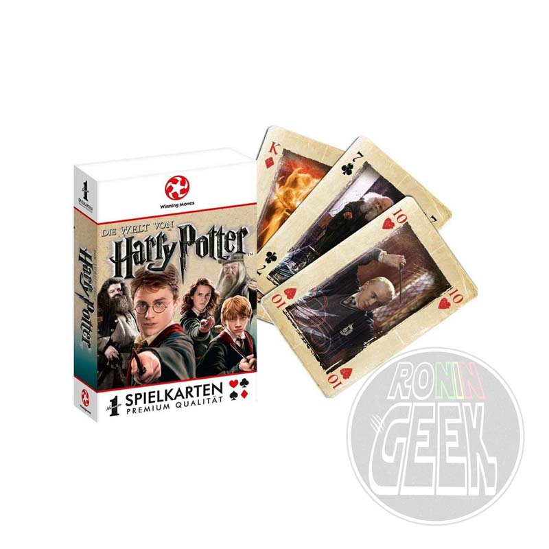 Harry Potter Number 1 Playing Cards