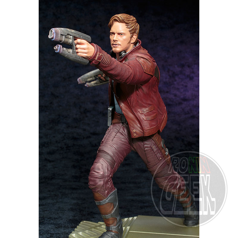KOTOBUKIYA - Marvel Guardians of the Galaxy 2 - Star Lord w/ Groot ARTFX Statue 32cm