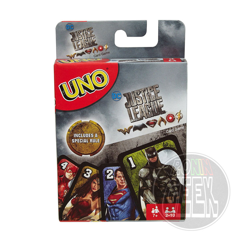 Justice League UNO Card Game