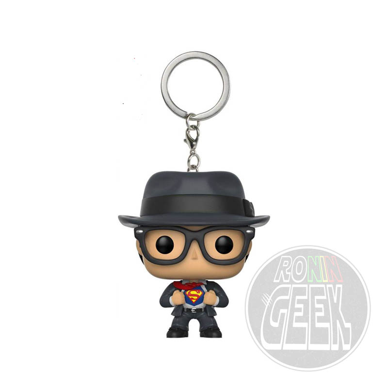 FUNKO POP! Keychain: Superman - Clark Kent